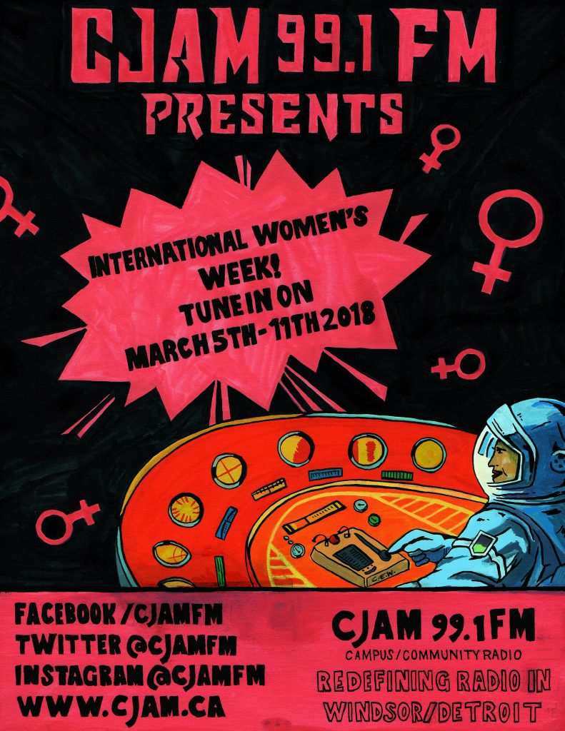 CJAM WOMEN'S WEEK
