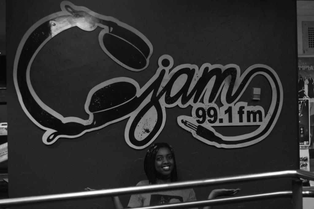 Mirella Black N White CJAM Logo